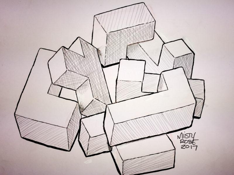 Inktober 2017: Puzzle