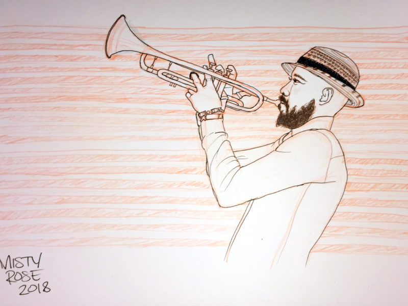 Inktober 2017: Jazz